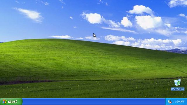 İlk Windows XP Reklamı