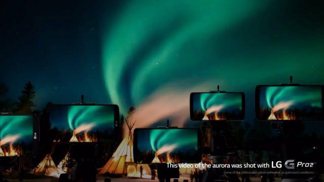 LG G Pro2: Kuzey Işıklarını Çekme Projesi
