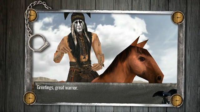 The Lone Ranger Tanıtım Videosu