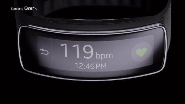 Samsung Gear Fit Tasarım Özellikleri TV Reklamı