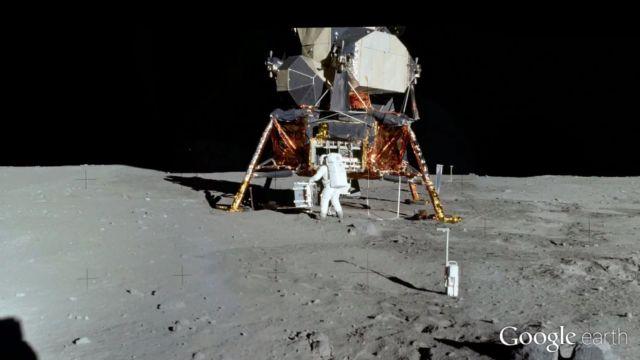 Google ile Ay'ı Ziyaret Edin