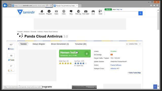 Yeni Tamindir'den Google Chrome ile Program İndirme