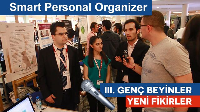 Smart Personal Organizer - III. Genç Beyinler Yeni Fikirler