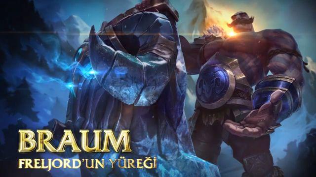 League of Legends'ın Yeni Şampiyonu ''Braum''un Tanıtım Videosu