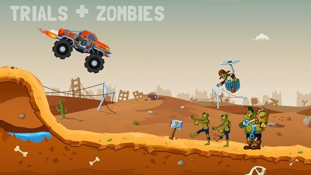 Zombie Road Trip Trials Oynanış Videosu