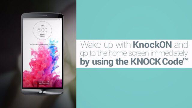 LG G3 Akıllı İpuçları: Tıklayarak Ekran Kilidini Açma