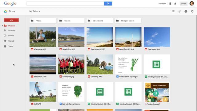 Google Drive'ın Yeni Arayüz Tanıtım Videosu