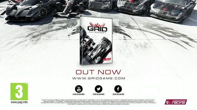 Grid Autosport Çıkış Videosu
