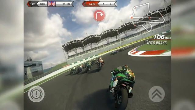 SBK14 Official Mobile Game Çıkış Videosu
