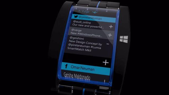 Lumia Akıllı Saat Mark II Konsept Videosu