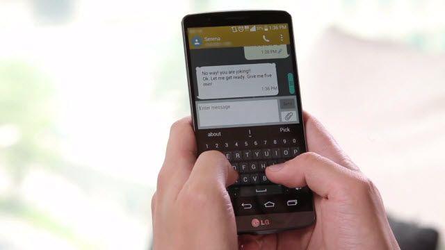LG G3 ve Akıllı Klavyesi