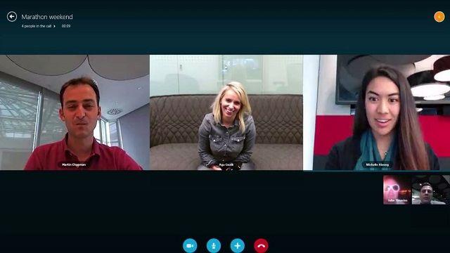 Modern Windows için Skype'a Grup Çağrısı Desteği Geldi