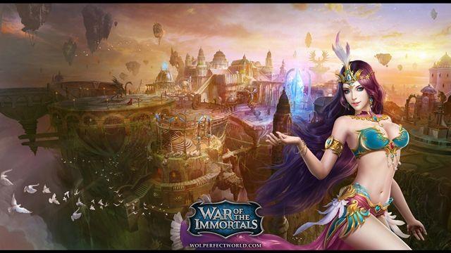 War of the Immortals Tanıtım Videosu