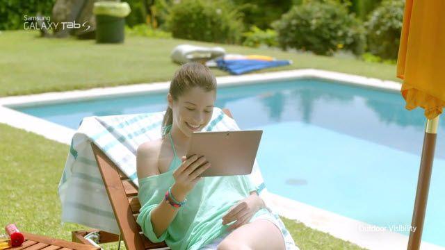 Samsung Galaxy Tab S: Optimum Görüntü Kalitesi