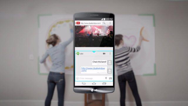 LG G3 Akıllı İpuçları: Çift Pencere Modu