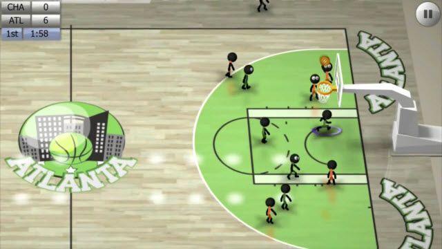 Stickman Basketball Oynanış Videosu