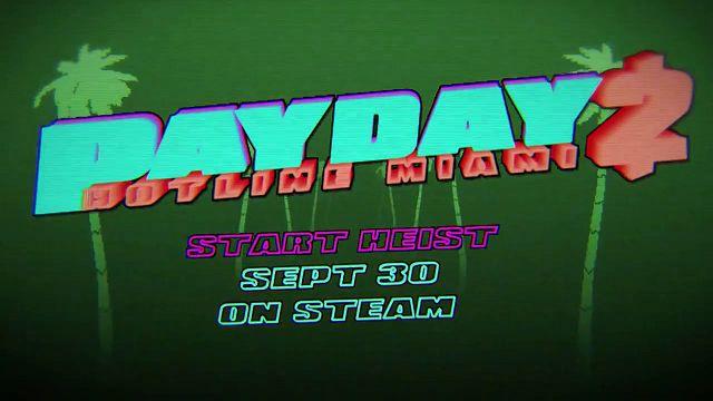 Payday 2 Hotline Miami DLC Videosu