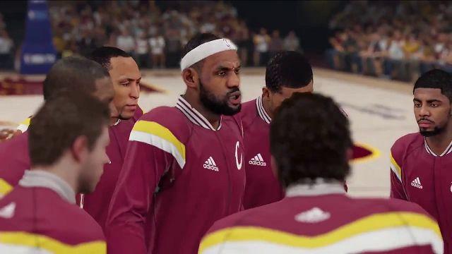 NBA 2K15 - Cleveland Cavaliers Maça Çıkış Videosu