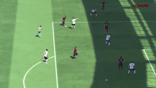 PES 2015 TGS 2014 Oynanış Videosu