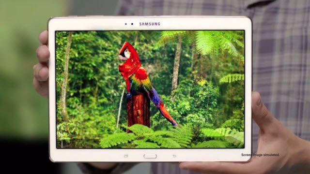 Samsung Galaxy Tab S: Beyninizle Görmeye Başlayın