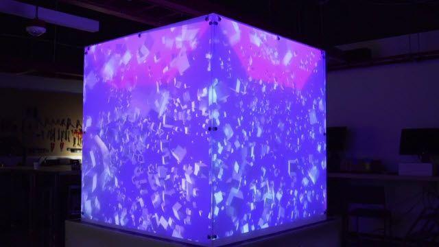 Kinect'le Güçlendirilen Küpü Gördünüz Mü?