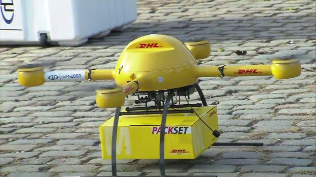 DHL Paketkopter Deneme Uçuşlarına Başladı