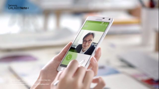 Samsung Galaxy Note 4: Çin TV Reklamı
