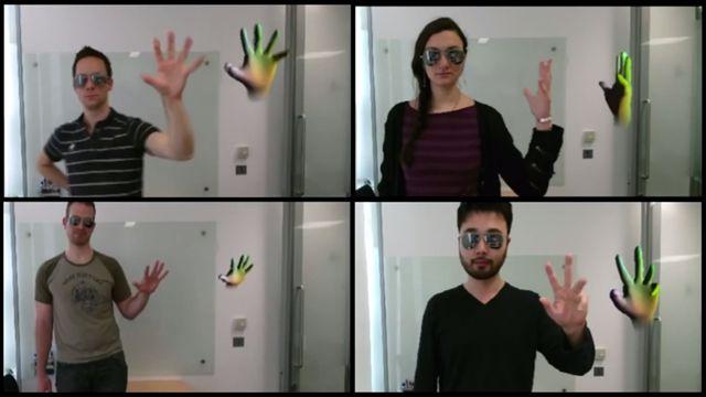 Windows için Kinect Parmak Hareketlerinizi Birer Birer Algılayabiliyor