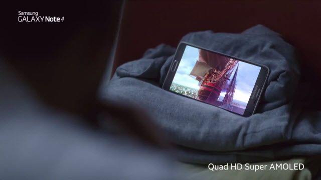 Samsung Galaxy Note 4 TV Reklamı: Öne Çıkanlar