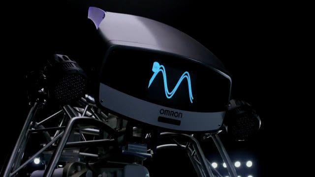 OMRON - Pinpon Oynayabilen Robot