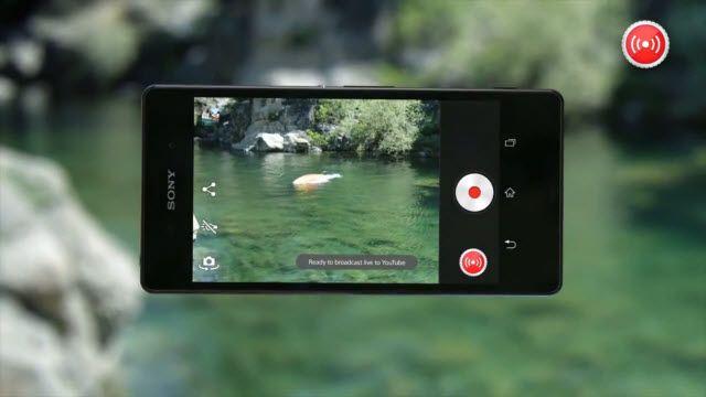 Sony Xperia Z3 ile YouTube'da Canlı Yayın Yapın