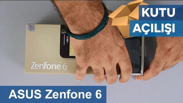 ASUS Zenfone 6 Kutu Açılışı