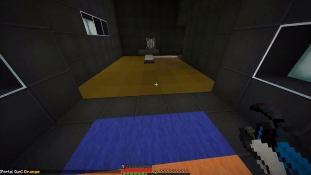 Portal 2'yi Bir de Minecraft Gözüyle Görün