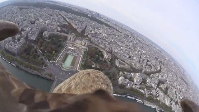 Sony Action Camera ile bir Kartalın Gözünden Paris