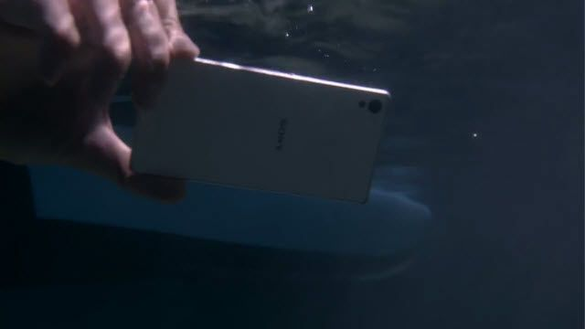 Sony Xperia Z3 En Yüksek Su Geçirmezliğe Sahip