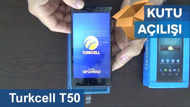 Turkcell T50 Kutu Açılışı