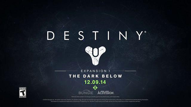 Destiny - The Dark Below'un Çıkış Videosu Yayınlandı