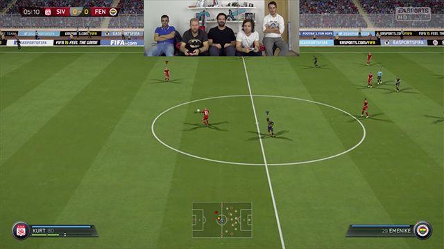 Fenerbahçe - Sivasspor Haftanın Maçı FIFA 15