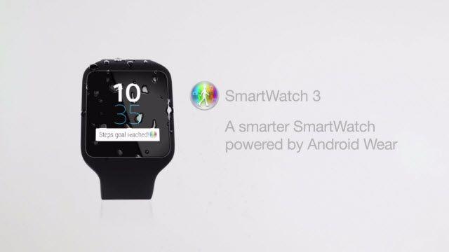 Sony SmartWatch 3'e Giriş