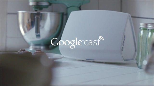 Google Cast ile Dinlediğiniz Müziği Ses Sisteminize Gönderin