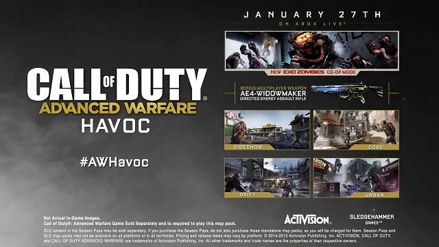 Call of Duty: Advanced Warfare - Havoc DLC Tanıtım Videosu