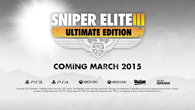 Sniper Elite Ultimate Edition Tanıtım Videosu