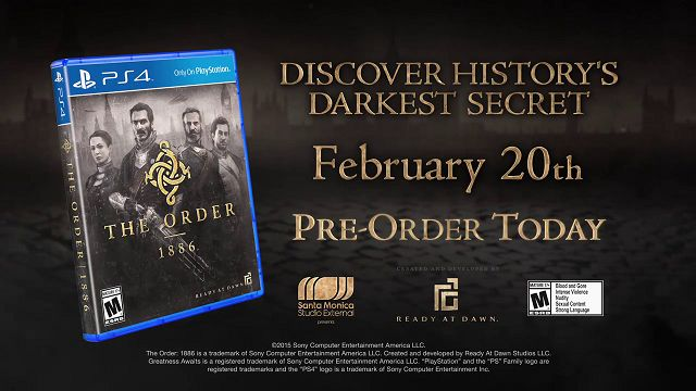 The Order: 1886 TV Reklamı
