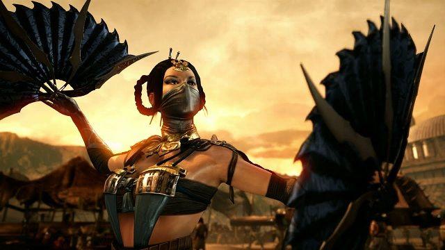 Mortal Kombat X - Kitana vs. Reptile Oynanış Videosu