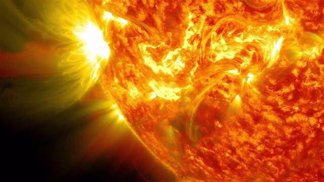 NASA Güneş Patlamalarını 5 Yıl Boyunca Kaydetti
