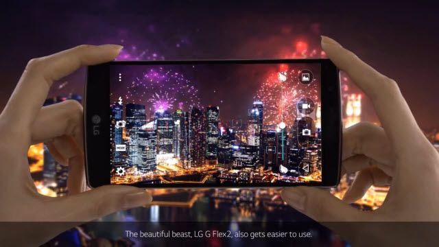 LG G Flex2 Ürün Hiikayesi Videosu