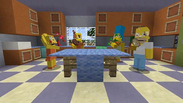 Minecraft - The Simpsons DLC Tanıtım Videosu