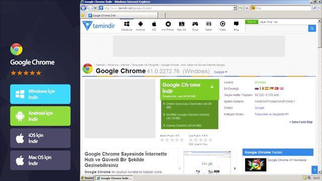 Google Chrome Nasıl Kurulur?