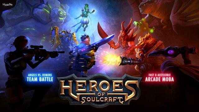 Ücretsiz MOBA Oyunu Heroes of Soulcraft - Android/PC Çıkış Videosu