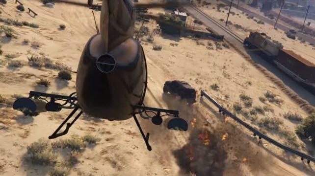 GTA 5 PC Versiyonu İçin 2. Oynanış Videosu Yayınlandı